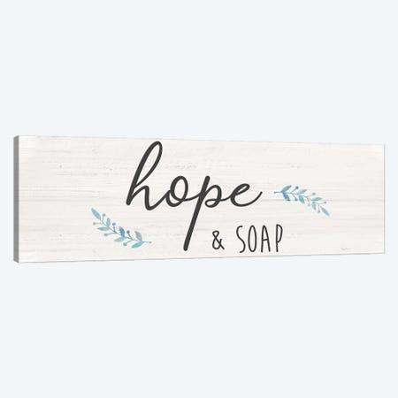 Hope & Soap Canvas Print #CRP169} by Natalie Carpentieri Canvas Art Print