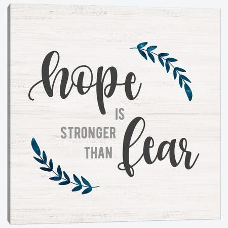 Hope is Stronger Canvas Print #CRP170} by Natalie Carpentieri Canvas Artwork
