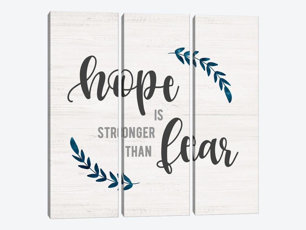 Hope is Stronger by Natalie Carpentieri 3-piece Canvas Art