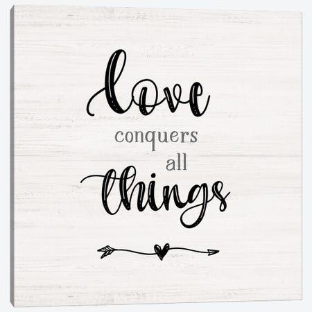 Love Conquers Canvas Print #CRP178} by Natalie Carpentieri Canvas Artwork