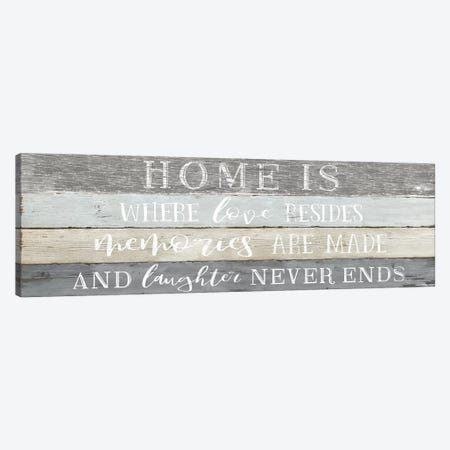 Home is Where Canvas Print #CRP18} by Natalie Carpentieri Canvas Artwork