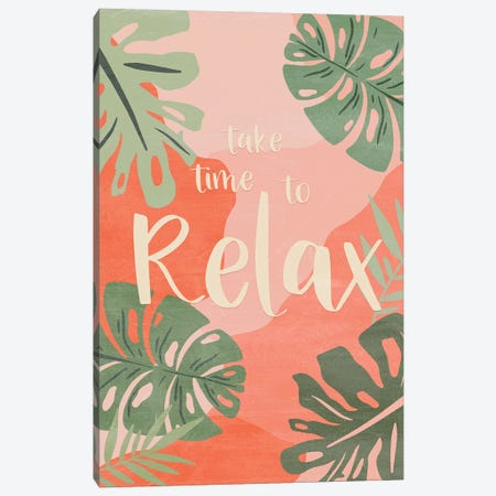 Take Time Canvas Print #CRP195} by Natalie Carpentieri Art Print