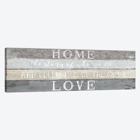 Home Love Canvas Print #CRP19} by Natalie Carpentieri Canvas Artwork