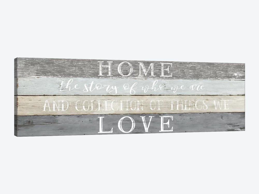 Home Love by Natalie Carpentieri 1-piece Canvas Art