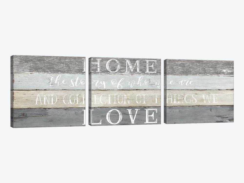 Home Love by Natalie Carpentieri 3-piece Canvas Wall Art
