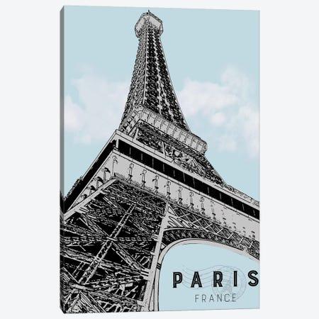 Mid Modern Paris Canvas Print #CRP21} by Natalie Carpentieri Art Print
