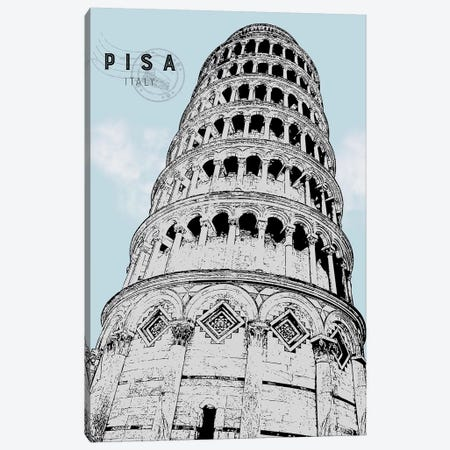 Mid Modern Pisa Canvas Print #CRP22} by Natalie Carpentieri Canvas Art Print