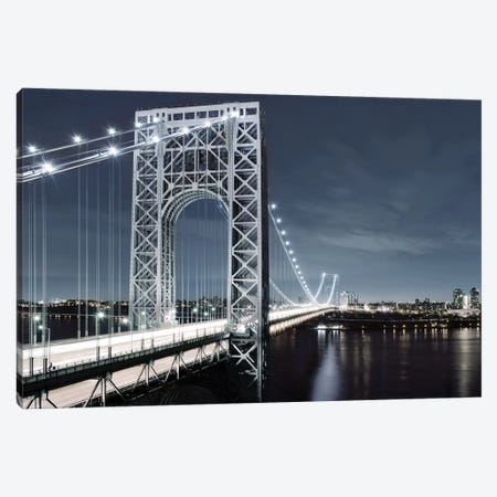NYC At Dusk 3-Piece Canvas #CRP2} by Natalie Carpentieri Canvas Wall Art