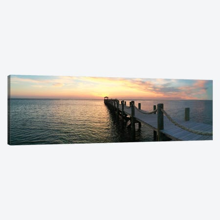 Dockside Canvas Print #CRP32} by Natalie Carpentieri Canvas Art