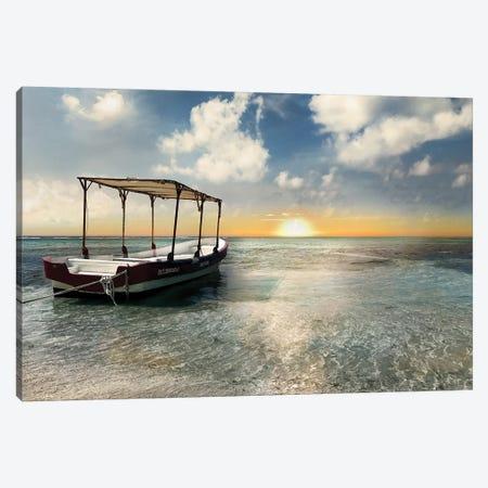 Coasta Maya Sunset Canvas Print #CRP3} by Natalie Carpentieri Canvas Artwork