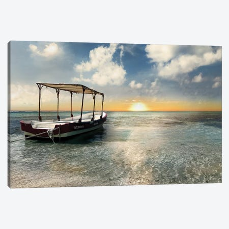 Coasta Maya Sunset Canvas Print #CRP3} by Natalie Carpentieri Canvas Artwork