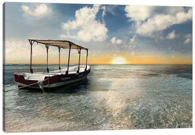 Coasta Maya Sunset Canvas Art Print