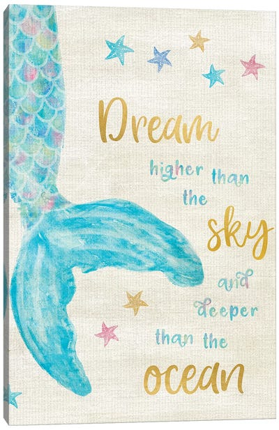 Mermaid Dream Canvas Art Print