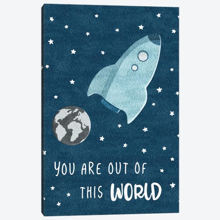 Out Of This World Canvas Print #CRP49} by Natalie Carpentieri Canvas Art Print