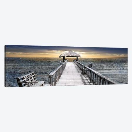 Honduras Pier Canvas Print #CRP4} by Natalie Carpentieri Canvas Art Print