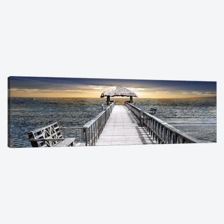 Honduras Pier Canvas Print #CRP4} by Natalie Carpentieri Canvas Art Print