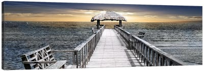 Honduras Pier Canvas Art Print