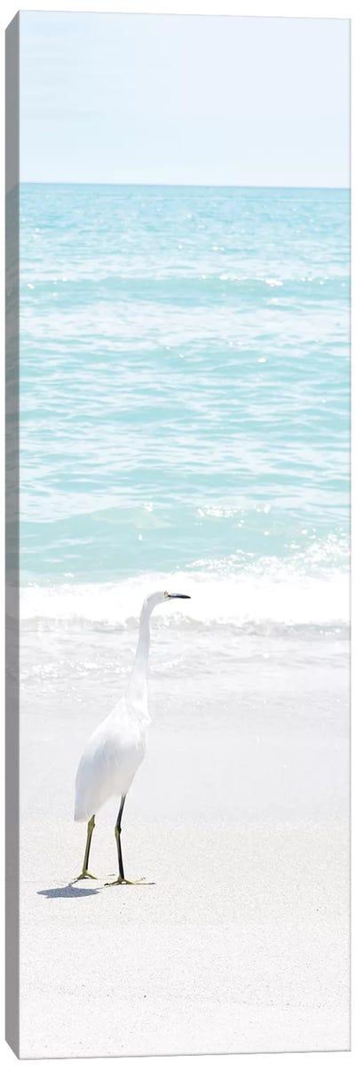 Summer Egret I Canvas Art Print