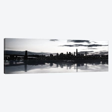 Shimmering Skyline Canvas Print #CRP67} by Natalie Carpentieri Canvas Wall Art