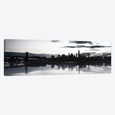 Shimmering Skyline Canvas Print #CRP67} by Natalie Carpentieri Canvas Wall Art