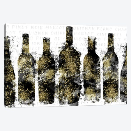 Wine Selection Canvas Print #CRP68} by Natalie Carpentieri Canvas Art Print