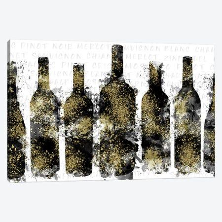 Wine Selection Canvas Print #CRP68} by Natalie Carpentieri Canvas Art Print