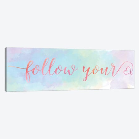 Follow Your Heart Canvas Print #CRP7} by Natalie Carpentieri Art Print