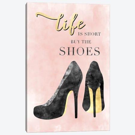 Buy The Shoes 3-Piece Canvas #CRP80} by Natalie Carpentieri Art Print