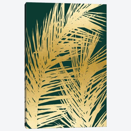 Emerald Palm I Canvas Print #CRP86} by Natalie Carpentieri Canvas Wall Art