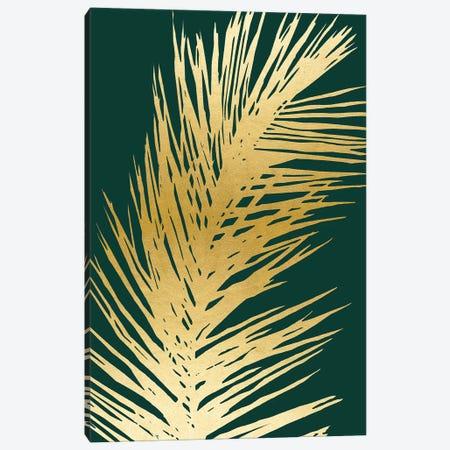 Emerald Palm II Canvas Print #CRP87} by Natalie Carpentieri Canvas Artwork