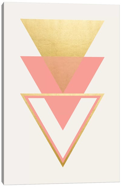 Geometric Trio I Canvas Art Print