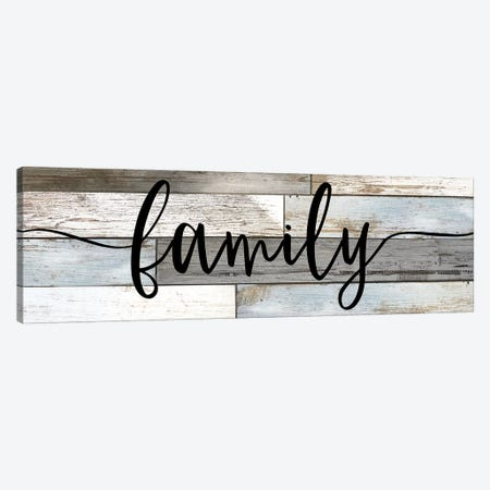 Family Canvas Print #CRP93} by Natalie Carpentieri Canvas Artwork