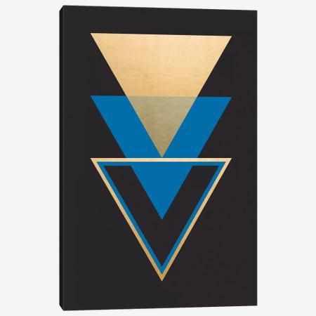 Geometric Trio II Canvas Print #CRP9} by Natalie Carpentieri Canvas Artwork