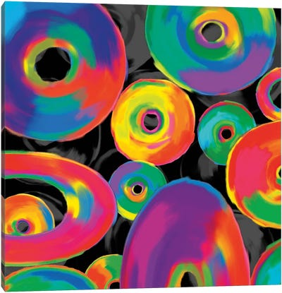 In Living Color I Canvas Art Print