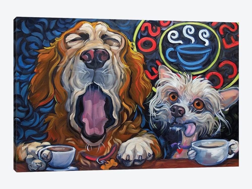 One Cup Shy by CR Townsend 1-piece Canvas Art