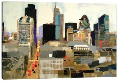 City Of London Canvas Art Print