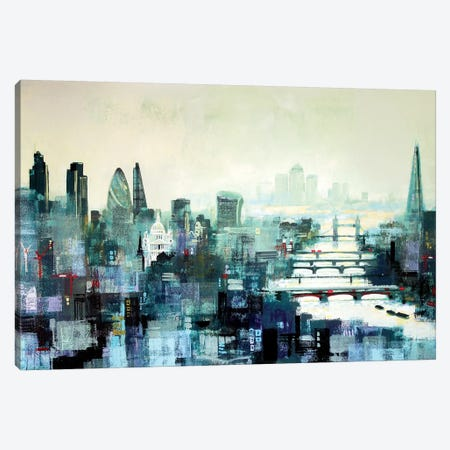 City Titans Canvas Print #CRU11} by Colin Ruffell Canvas Print