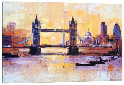 Colours Of London Canvas Art Print