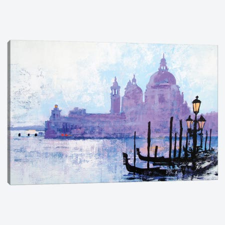 Colours Of Venice Canvas Print #CRU14} by Colin Ruffell Canvas Art