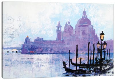 Colours Of Venice Canvas Art Print
