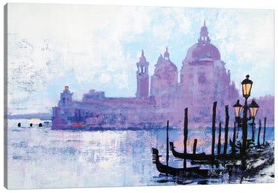 Colours Of Venice Canvas Art Print