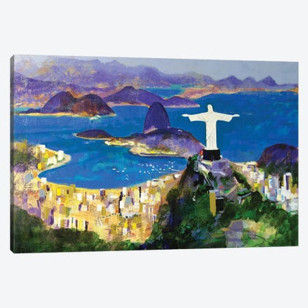 Cristo Canvas Print #CRU15} by Colin Ruffell Canvas Artwork