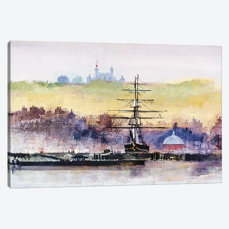 Cutty Sark Canvas Print #CRU16} by Colin Ruffell Canvas Wall Art