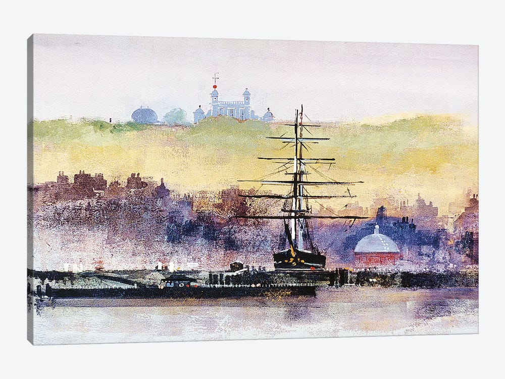 Cutty Sark by Colin Ruffell 1-piece Canvas Art Print