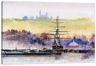 Cutty Sark Canvas Art Print