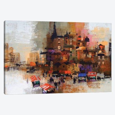 East End Canvas Print #CRU20} by Colin Ruffell Canvas Wall Art