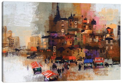 East End Canvas Art Print