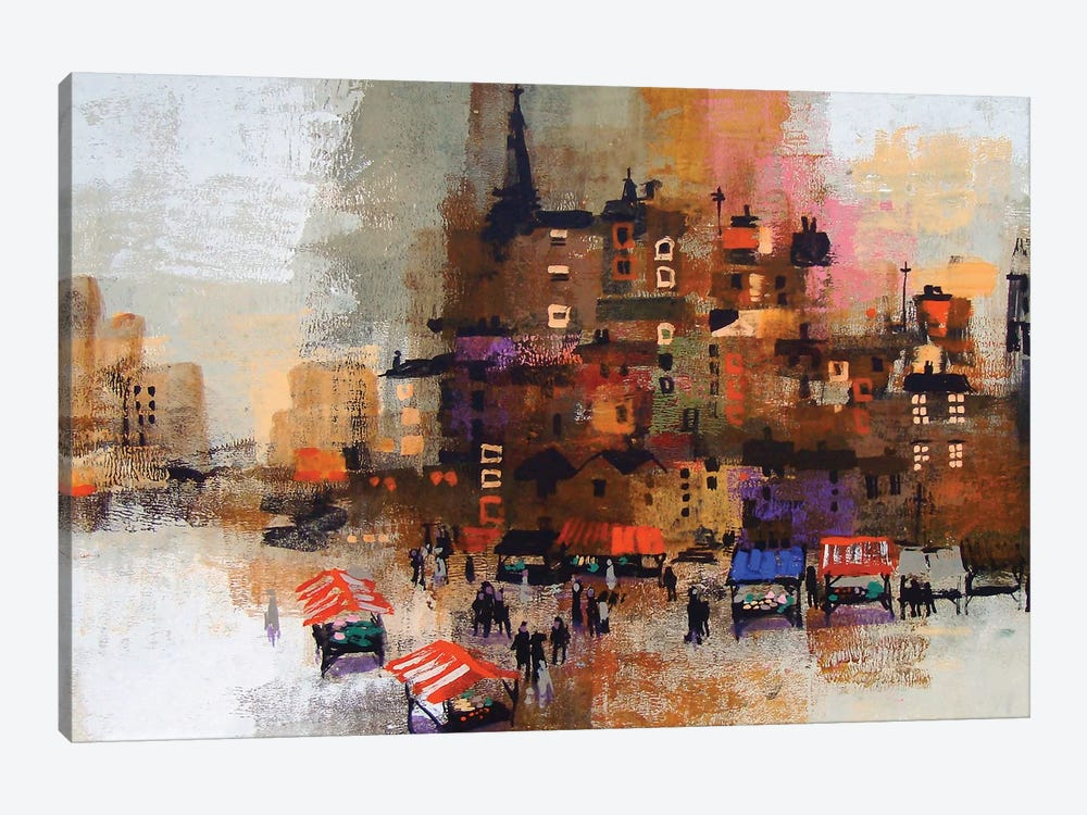 East End 1-piece Canvas Artwork