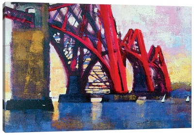 Edinburgh Forth Bridge Canvas Art Print