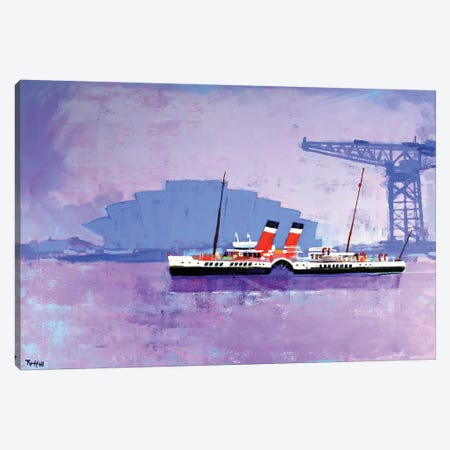 Glasgow Waverly Canvas Print #CRU27} by Colin Ruffell Art Print